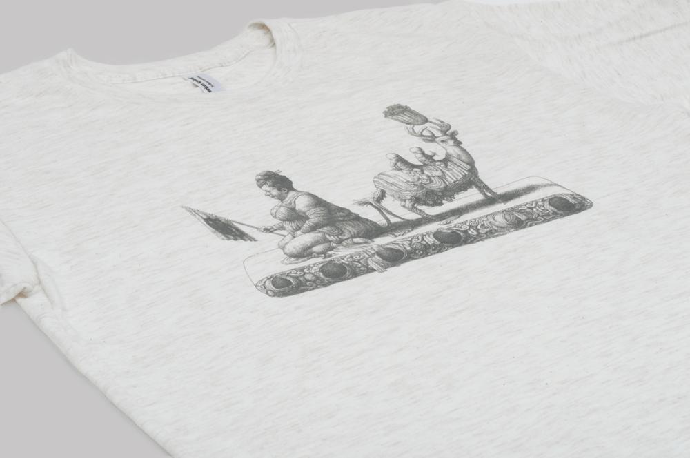 Image of microCastle Vuit T-Shirt Oatmeal