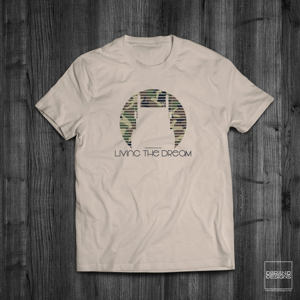 Image of Living The Dream Camo Shirt