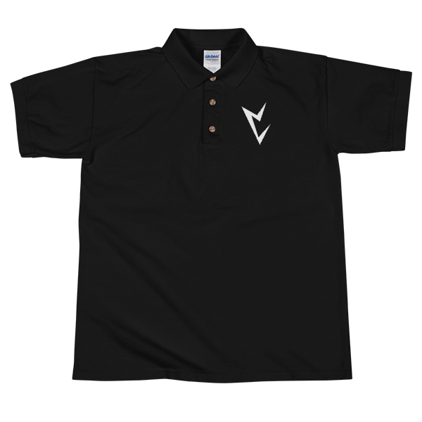 Image of Vril embroidered logo Polo shirt
