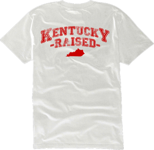 Image of LIMITED EDITION KY Raised in White & Red
