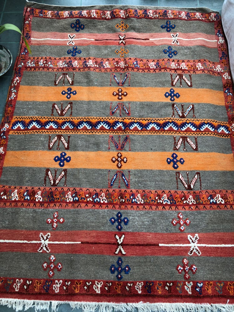 Image of Vintage Glaoua Berber Carpet