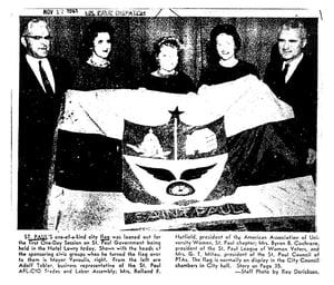 Image of Saint Paul Flag Patch