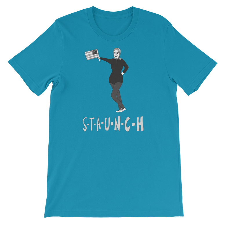 "Image of ""S-T-A-U-N-C-H"" T-Shirt - 4TH OF JULY SPECIAL!"