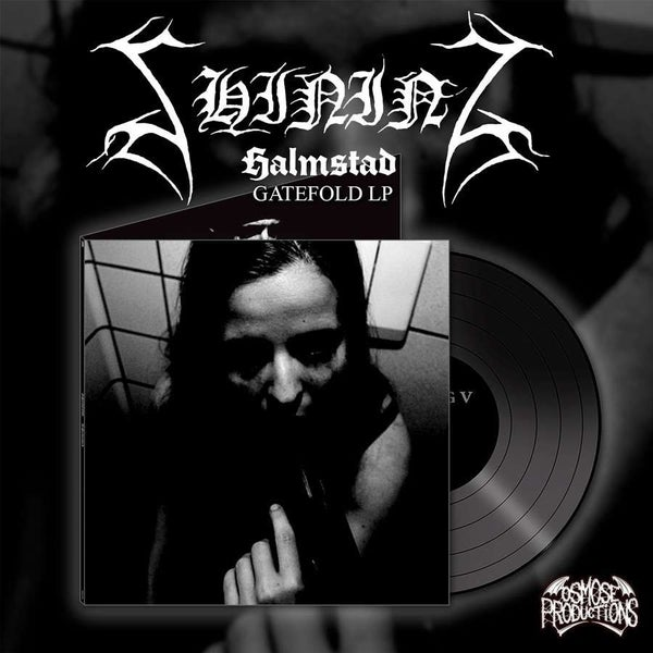 "Image of Shining ""V-Halmstad"" black vinyl"