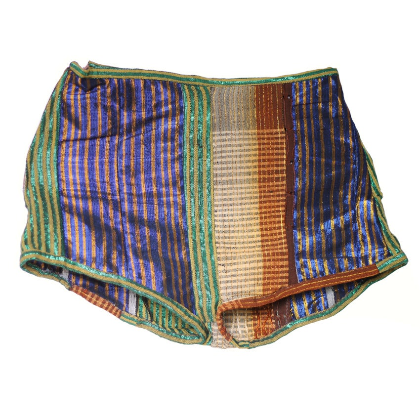Image of Awusa high waisted shine shorts