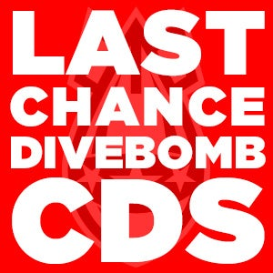 Image of DIVEBOMB LAST CHANCE CDs (OOP/RARE)