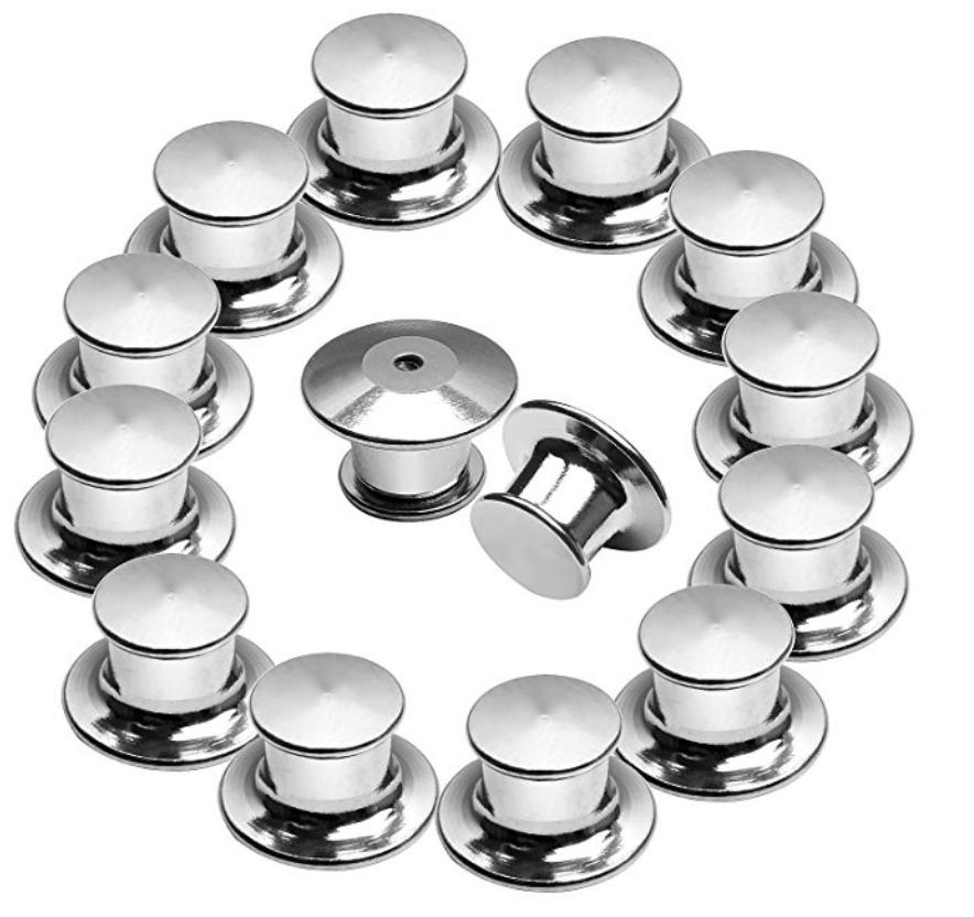 Image of Locking Pin Backs **Set of 2**