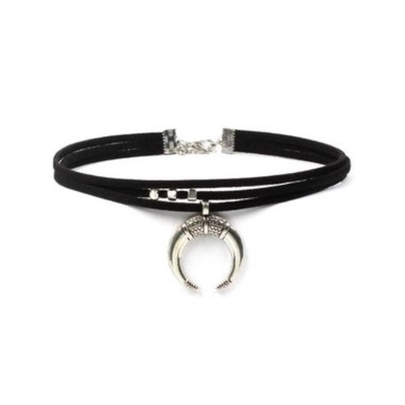 Image of Hunters Moon faux suede choker