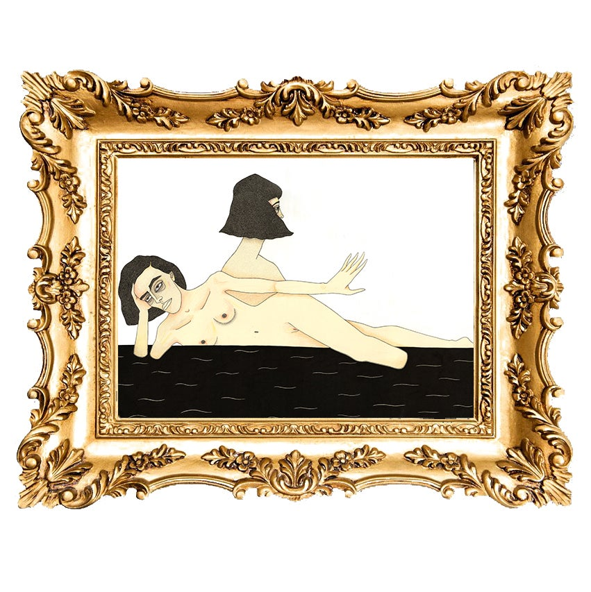 Image of Diss Missed Giclee Print