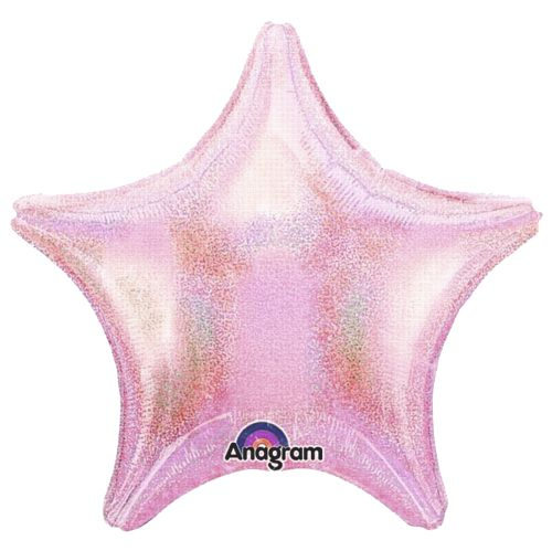 Image of Dazzler Pink Pastel Star Balloon
