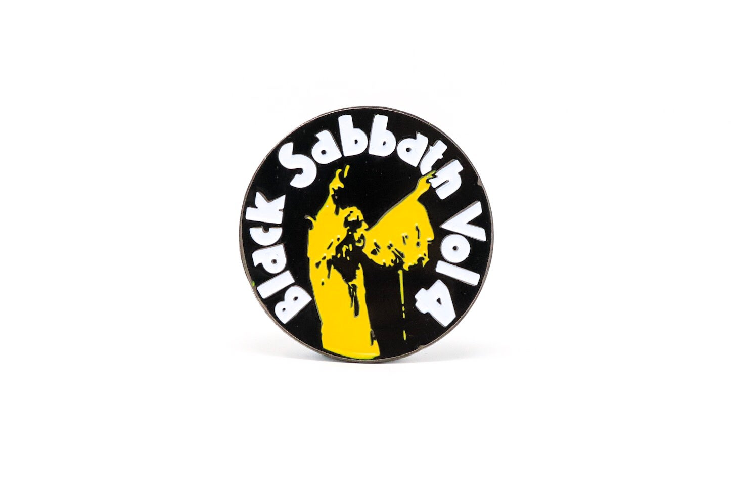 Image of Black Sabbath - Vol. 4 Enamel Pin