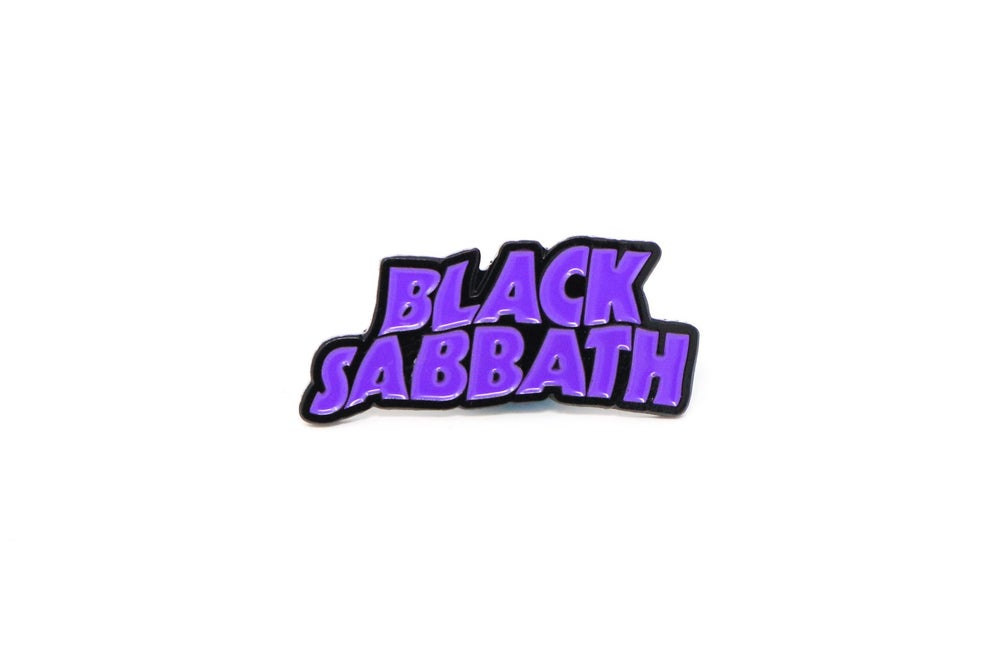Image of Black Sabbath 'Master of Reality' Enamel Pin