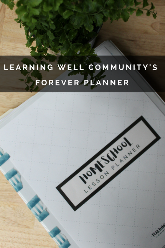 Image of LWC (FOREVER) HOMESCHOOL LESSON PLANNER PACK