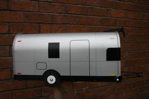 Image of Airstream Mailbox, Camp Trailer, Camper, Bambi, Overlander, Rv by TheBusBox