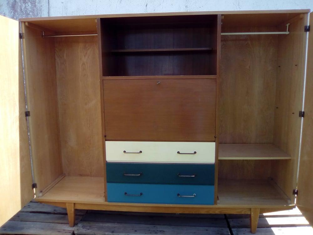 Image of Grande armoire secrétaire double