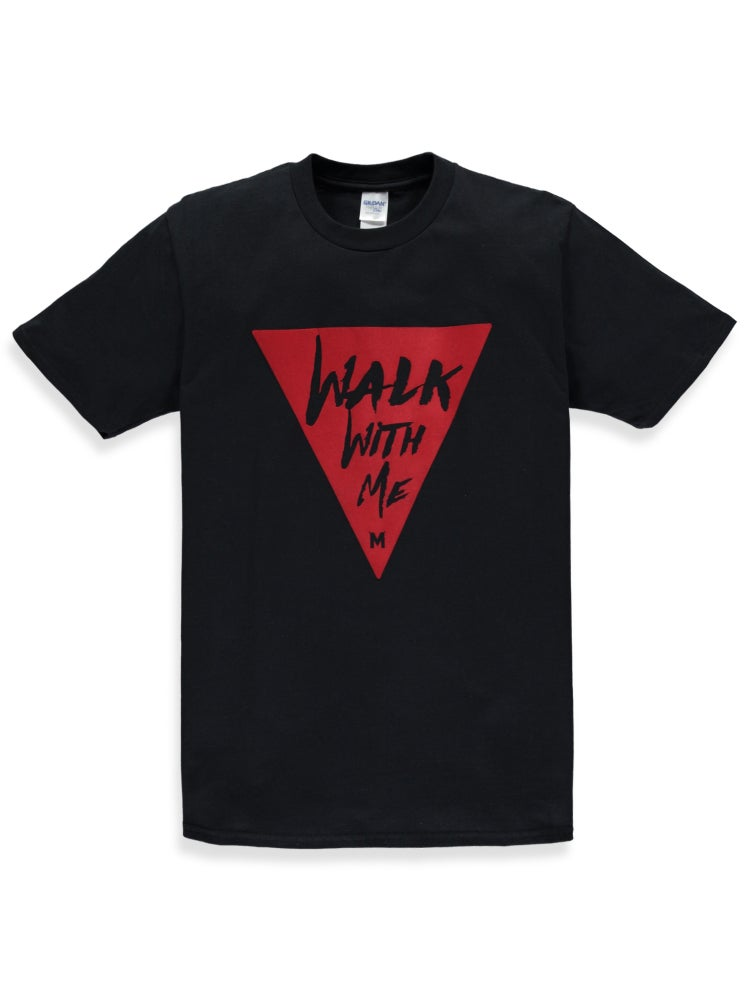Image of Walk With Me Black/Red