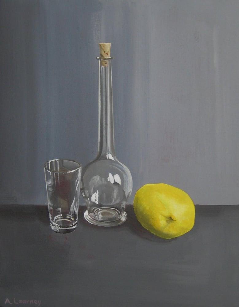Image of Still life with lemon