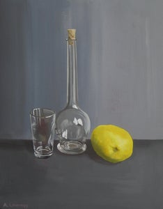 Image of Still life with lemon