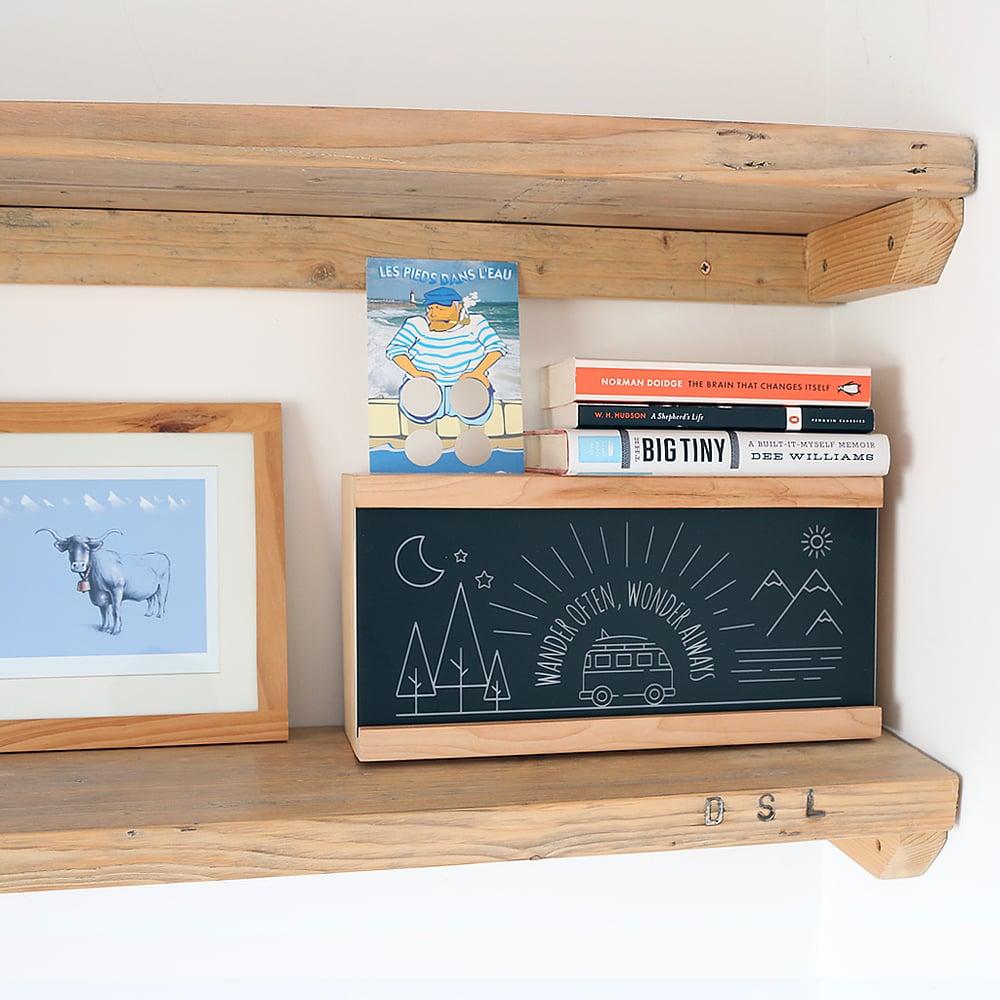 Image of 'Wander Often' Adventure Campervan Wooden Light Box