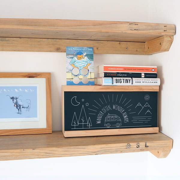 Image of 'Wander Often' Adventure Campervan Wooden Light Box