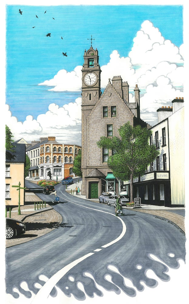 Image of The Town Clock, Ballyshannon - Co. Donegal