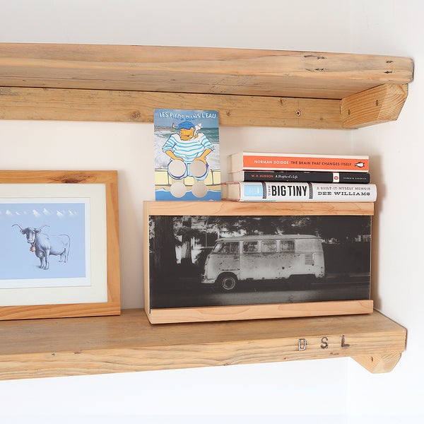 Image of Personalised Campervan Wooden Light Box