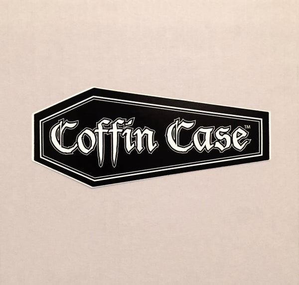 Image of COFFIN CASE Sticker