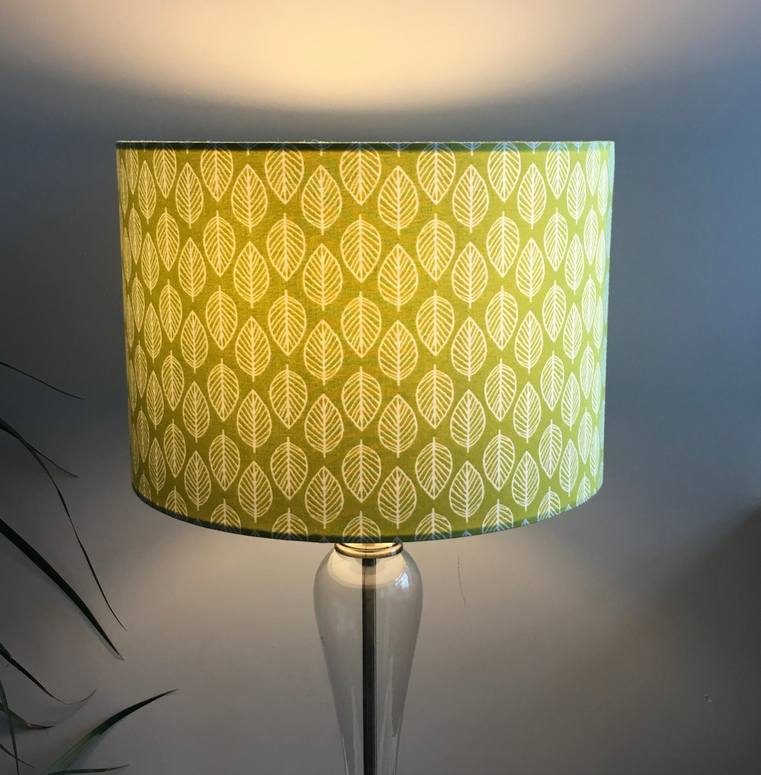 Image of Modern Retro Leaf Green 30cm Shade