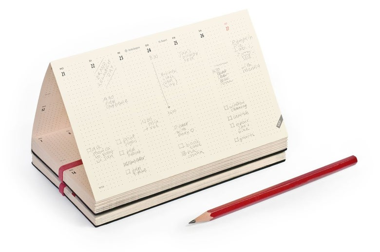 Image of DAYZ planner 18 months 2019 – 2020 | horizontal week
