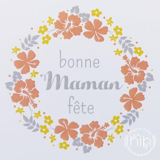 Image of carte 🙐folia🙖 bonne fête maman