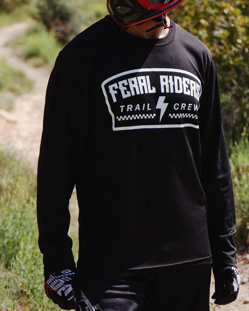 """Image of """"TRAIL CREW"""" RIDING JERSEY"""