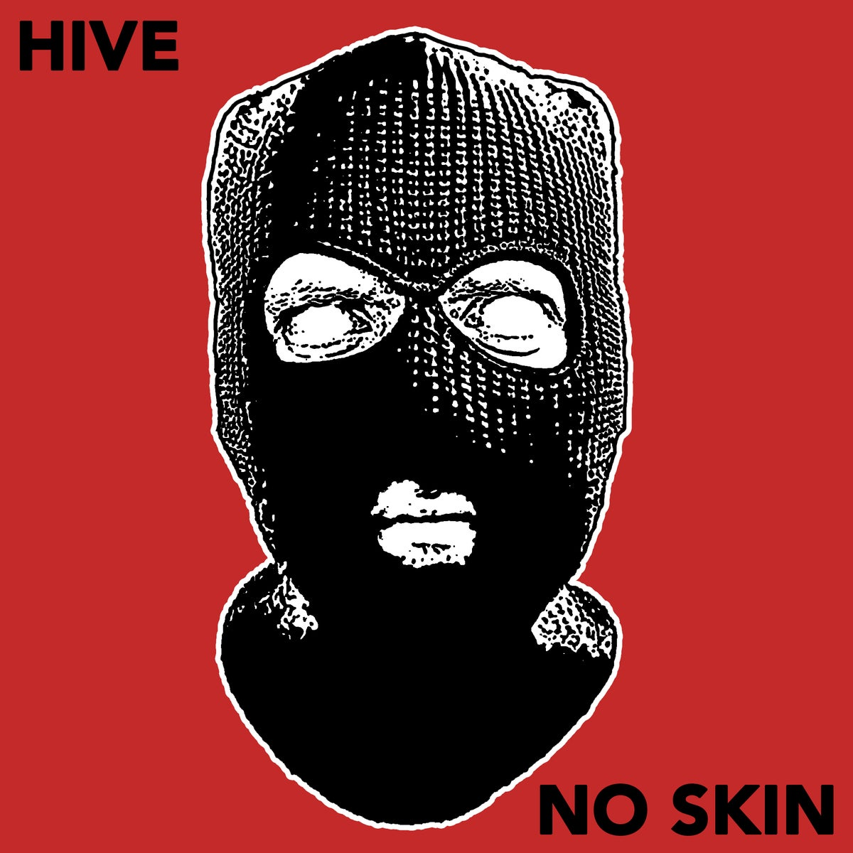 "Image of HIVE / NO SKIN split 7"" vinyl record + download card"