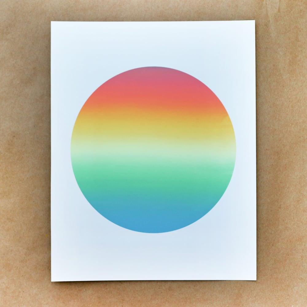Image of Orange Monoprint