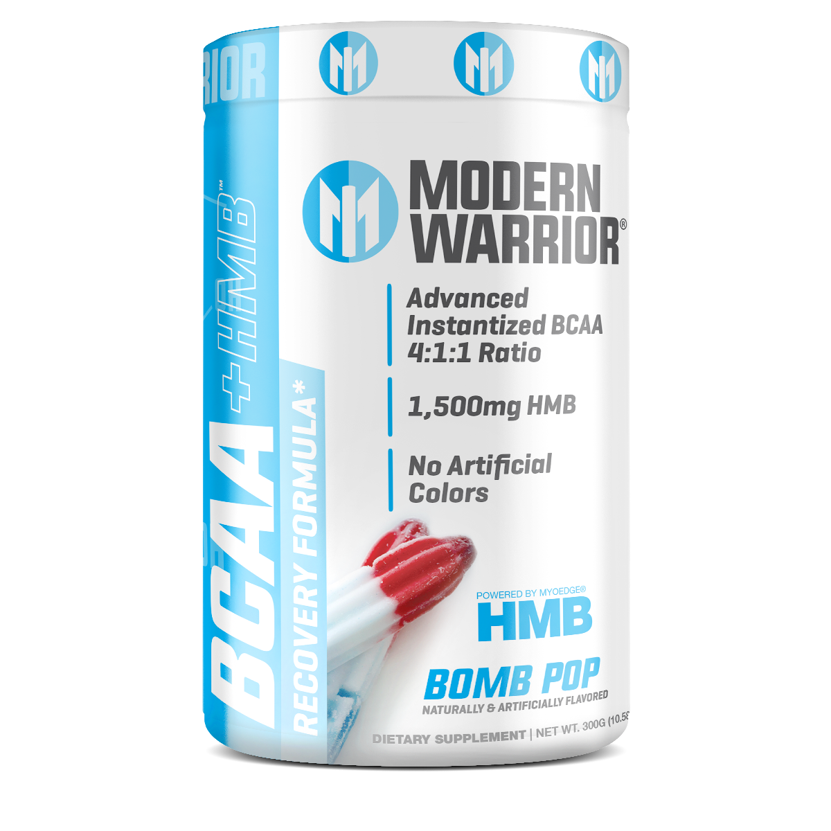 Image of MODERN WARRIOR BCAA Powder with HMB BOMB POP FLAVOR