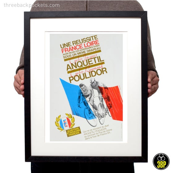 Image of Tour de France 1964 Jacques Anquetil & Raymond Poulidor print