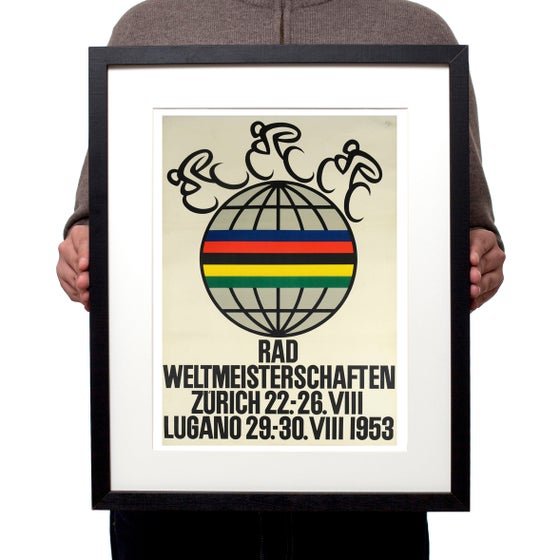 Image of 1953 Cycling Road World Championships poster