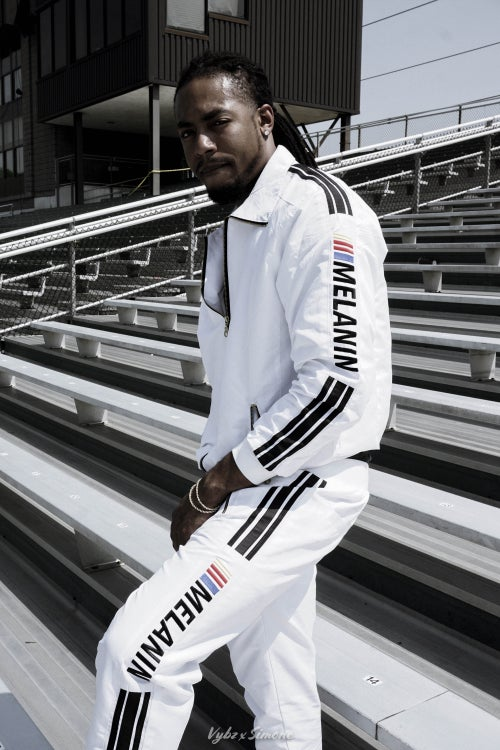 Image of Melanin Speed Racer Tracksuit