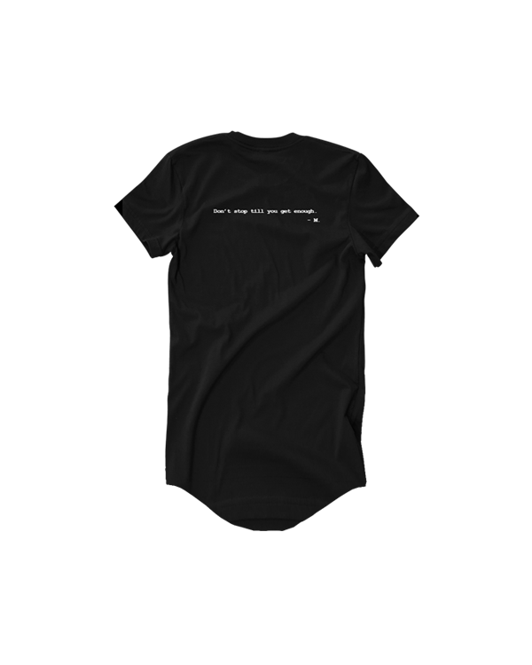 Image of SBNHS MJ Long Tee - Black