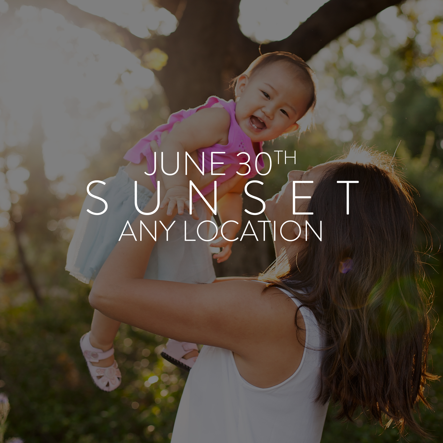 Image of Saturday June 30th, 6pm - Location of Your Choice