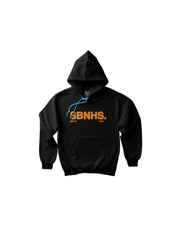 Image of SBNHS Crown Hoodie - Black