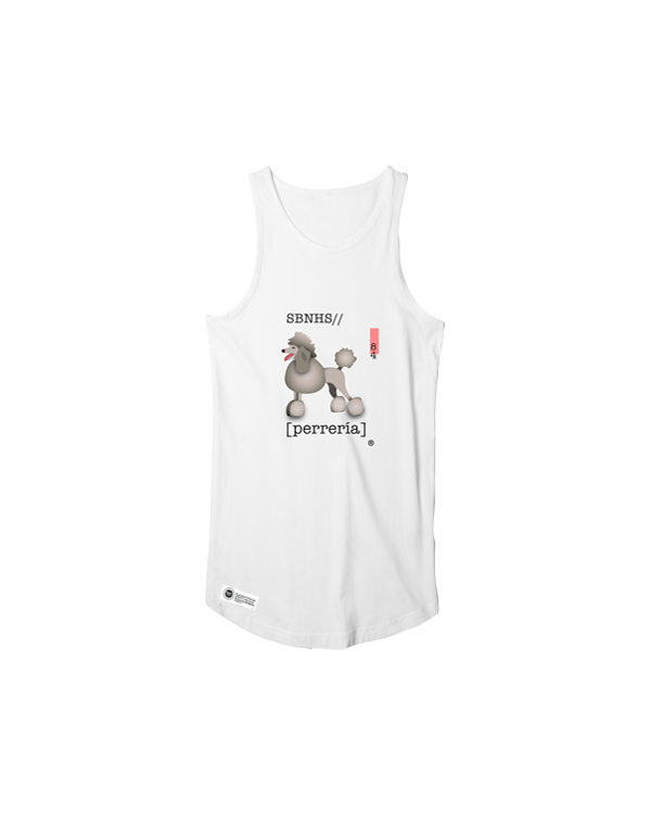 Image of Perrería Tank Top - White