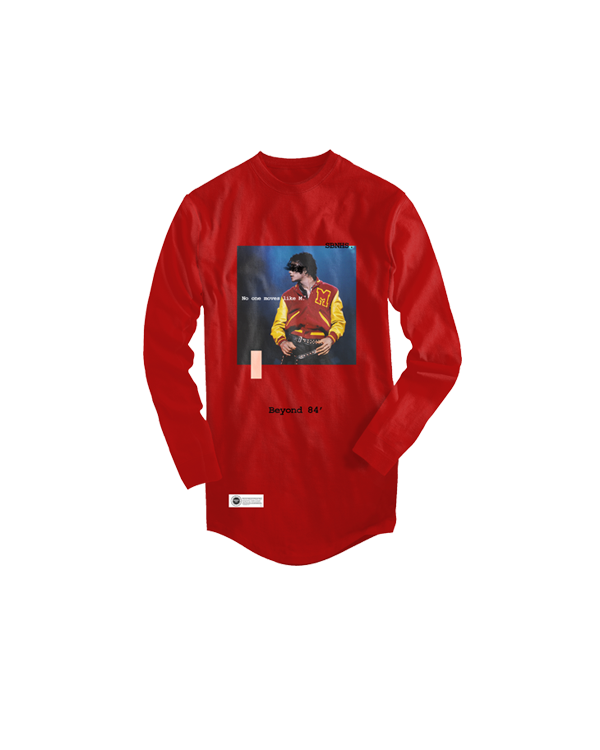 Image of MJ Long Sleeve - Red