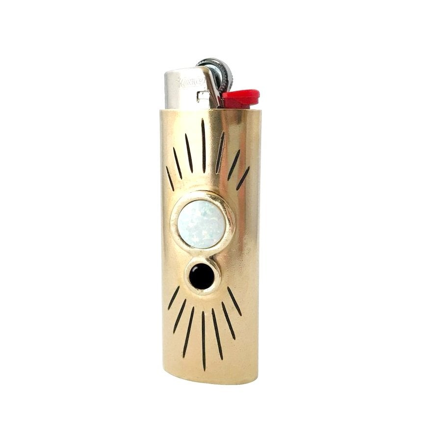 Image of Orbit Lighter Case with Large Opal