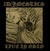 Image of THE DOMESTICS 'LIVE IN OSLO' LP (LIMITED TO 330 COPIES WORLDWIDE)