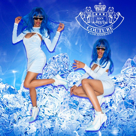 Image of ICEY COUTURE blue ice