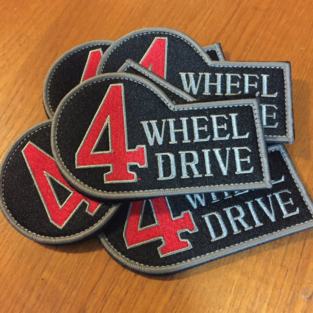 Image of 4 wheel drive patch