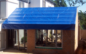 Image of Tarps 650 gram PVC material, double webbed