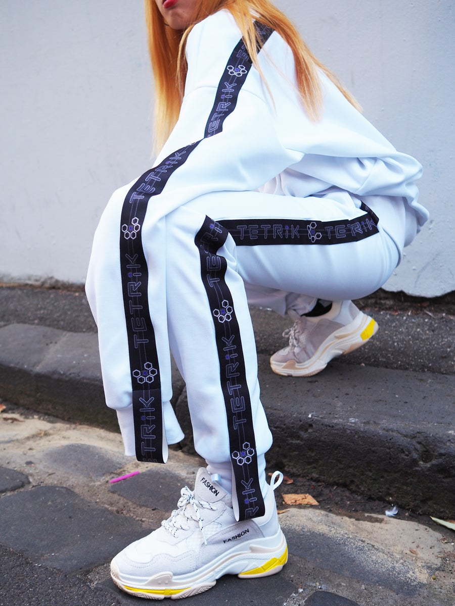 Image of BRIGHT_WHITE TRACK SUIT
