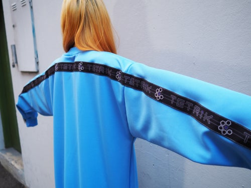 Image of BRIGHT_BLUE TRACK SUIT