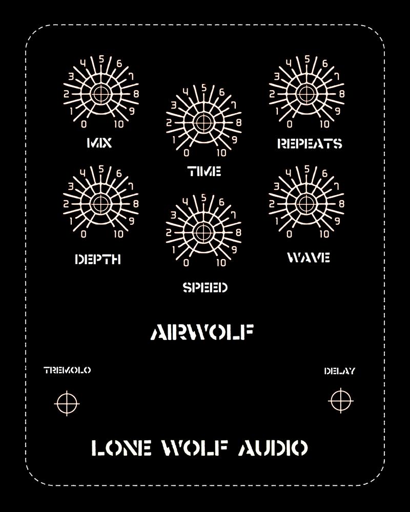 Image of Airwolf optical tremolo delay